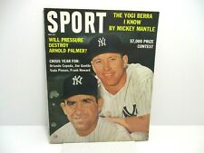 1963 May Sport Magazine. Mickey Mantle Cover Ex. Cond.
