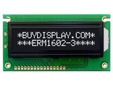 5V Black 16x2 Character LCD Display Module w/Tutorial,HD44780,White Backlight