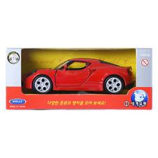 Welly 1:34 Alfa Romeo 4C Red Display Mini Car Miniature Car