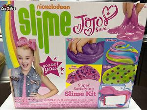 Nickelodeon Jojo Siwa Super Satisfying Slime Kit by Cra-Z-Art BRAND NEW