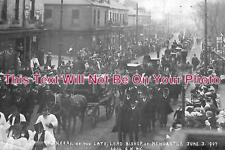 NO 206 - Funeral Of Late Lord Bishop, Newcastle, Northumberland c1907 6x4 Photo