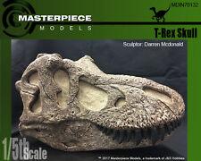 1/5th scale T-Rex Skull with matrix, unpainted replica  MDIN70132