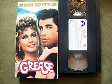 (LOT OF 2) Grease & Pretty Woman (VHS) TRAVOLTA, OLIVIA, JULIA, RICHARD GERE