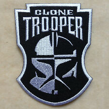 CLONE TROOPER STARWARS STAR WARS EMBROIDERY IRON ON PATCH BADGE