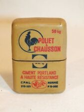 Ancien Briquet essence pub Poliet & Chausson