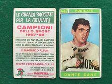 CAMPIONI DELLO SPORT 1967-68 n.447 DANTE CANE' PUGILATO Figurina Panini (NEW)