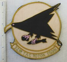 32nd TAC RECON SQUADRON Bullion USAF PATCH Custom Made for US AIR FORCE VETERANS