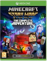 Minecraft Story Mode The Complete Adventure Xbox One **FREE UK POSTAGE!!**