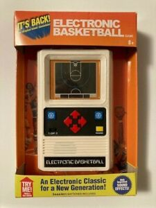 Mattel Electronic Basketball Game - Retro 70's Classic (New in Box)