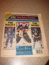 The Hockey News 1992 Glenn Anderson Ray Bourque Kirk Muller Larry Robinson