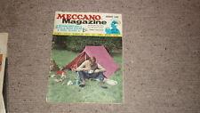 OLD MECCANO MAGAZINE, AUG 1969, MECCANO GIANT LOCO, MODEL VILLAGES