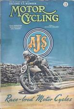 The MotorCycling Magazine 14th June 1951 Second TT Number BSA AJS Norton Triumph