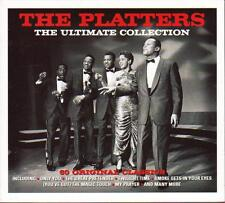 THE PLATTERS - THE ULTIMATE COLLECTION - 60 ORIGINAL CLASSICS (NEW SEALED 3CD)