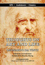 DaVinci: Thoughts on Art and Life - Unabridged MP3 CD Audiobook in DVD