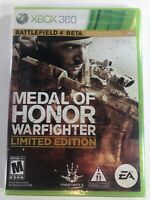 Medal of Honor Warfighter [ Limited Edition ] (XBOX 360) NEW