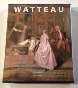 WATTEAU Guillaume Glorieux Citadelles & Mazenod coffret  livre art