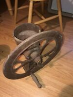No 2 Cast Iron Coffee Grinder In Good Rustic Condition