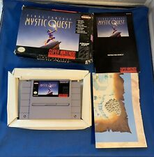 New listing Final Fantasy: Mystic Quest Snes Super Nintendo Complete Cib Box Manual Map