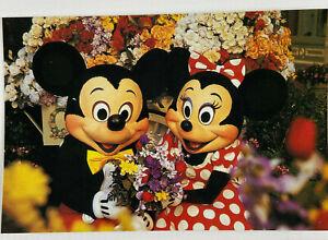 Walt Disney World Mickey & Minnie Mouse Magic Kingdom Main Street postcard card