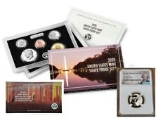 2020 SILVER PROOF SET w/ FIRST W REVERSE PF NICKEL, NGC REV PF70, FIRST RELEASES