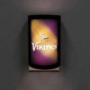 NFL Minnesota Vikings PLUG-IN LED Night Light Party Animal with Light Sensor