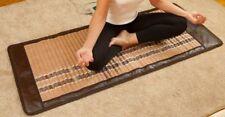 Heating Blanket 72''x24'' Amethyst Jade Tourmaline Pad Negative Ions InfraRed