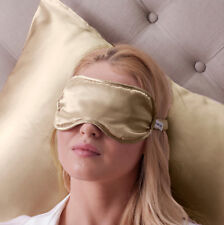 Jasmine Silk Pure Silk Filled Sleep Eye Mask Sleeping Eye blindfold Taupe