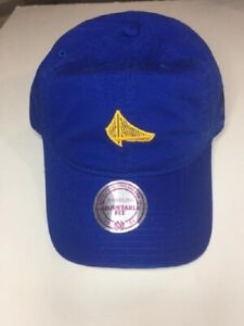 GOLDEN STATE WARRIORS MITCHELL & NESS SOFT/DAD  HAT NEW & OFFICIALLY LICENSED
