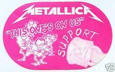 METALLICA 2000 Sanitarium Concert Tour Backstage Pass!! Authentic Original PERRI