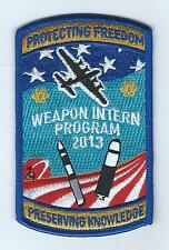 "SANDIA NATIONAL LABS, WEAPONS INTERN PROGRAM 2013""PROTECTING FREEDOM...""patch"