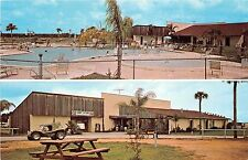 Florida postcard Orlando 27 Koa campground multiview swimming pool camping