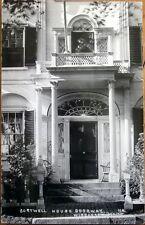 1930 Realphoto Postcard: Sortwell House Front Door - Wiscasset, Maine ME