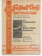 DDR-Liga 80/81 ZEPA activista negra bomba-Hoyerswerda-construcción krumhermersdorf