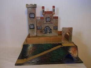 Vintage German Wood Castle for Elastolin Lineol Figure #<