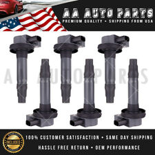A Set of 6 Ignition Coils For Mazda 6 Ford Taurus Mustang Lincoln MKZ UF553