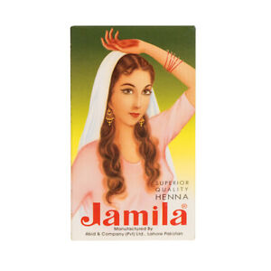 UK Authentic Jamila Natural Henna Powder Temporary Tattoo Art Hair Color Dye