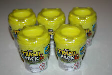 5 Trash Pack Toilets - New and Sealed - Each containing 2 Trashies and Guide  5+