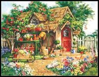 Gardener's Haven - Counted Cross Stitch Patterns Needlework embroidery