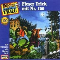 """TKKG """"FIESER TRICK MIT NR.100 (FOLGE 100)"""" CD HÖRBUCH NEUWARE"""