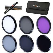 K&F Concept 40.5mm Polarizing + UV + ND Neutral Density + FLD Lens Filter Kit