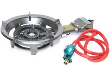 Portable Propane Gas Burner Stove Jumbo Super Supergas Camp Camping Tailgating