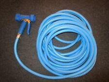 Tuyau bleu de 12m avec pistolet pour central de lavage ou de désinfection