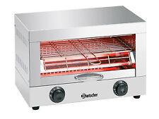 Bartscher Einzel Toaster Überbackgerät Quarzstrahler A151300 inkl. Toastzange