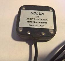 Genuine Holux A-10003 Antena GPS SMA Macho Holux GM62 Navman Garmin Sat Nav