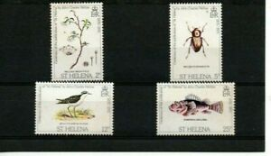 A LOVELY MM 1975 SAINT HELENA SET OF 4 STAMPS DEPICTING WILDLIFE