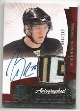 10-11 Nick Johnson The Cup Auto Rookie Card RC #135 Sweet Jersey Patch 090/249