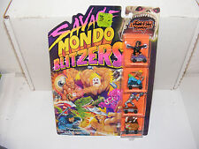 "1991 Kenner Savage Mondo Blitzers Zowees ""Concrete Breakfast Gang"", Mint in pack"