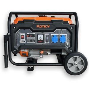 FUXTEC 2500 Watt Stromerzeuger Strom Generator Benzin Notstromaggregat 230V