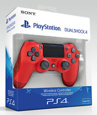 Playstation 4 PS4 Controller Wireless Dualshock 4 V2 Red (2016) Sony Manette