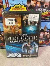 Dvd Disc New Sealed Video Movie 4 Films Fantasy Adventure Hallmark Collector Set